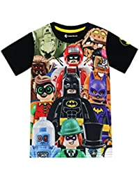 09e34cde0cb LEGO Batman Boys Batman T-Shirt Ages 4 to 13 Years