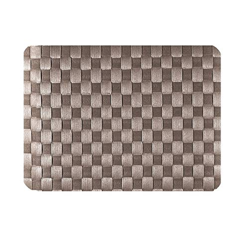 Saleen 2038642 Set de Table Rectangulaire Taupe