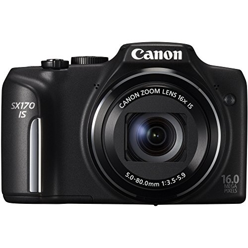 Canon PowerShot SX170 IS Advance Point and shoot Camera (Black)