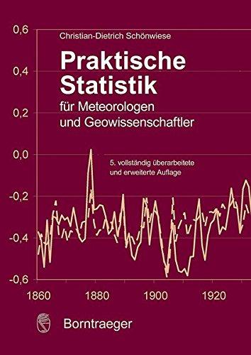 Praktische Statistik für Meteorologen und Geowissenschaften