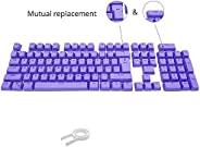 Bossi 104 Keys PBT Doubleshot Injection Keycaps Backlight Colors Replacement Keycaps for Mechanical Game Keybo