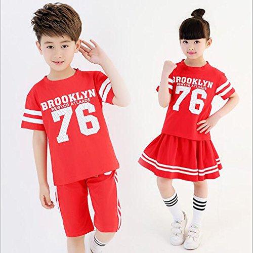 Moyuqi Kinder Tanzkostüme Kleid Jungen Mädchen Kleidung für -