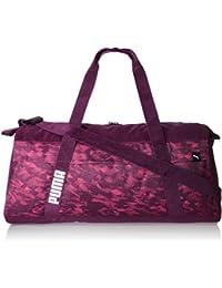 Puma 58 cms Dark Purple-Love Potion-Graphic Travel Duffle (7473504)