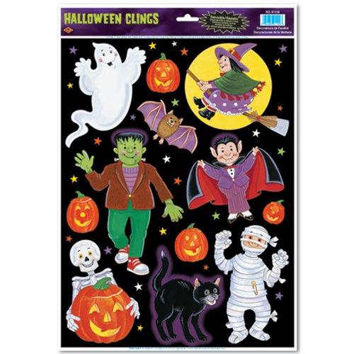 Beistle 01129Halloween Charakter klammert sich an, 12Zoll von 43cm (Fenster Klammert Für Kinder)
