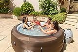 Bestway LAY-Z-SPA Limited mit Filterpumpe – Jacuzzi Whirlpool beheizter Pool Outdoor - 10