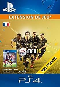 750 Points FIFA 16 [Extension De Jeu] [Code Jeu PSN PS4 - Compte français]