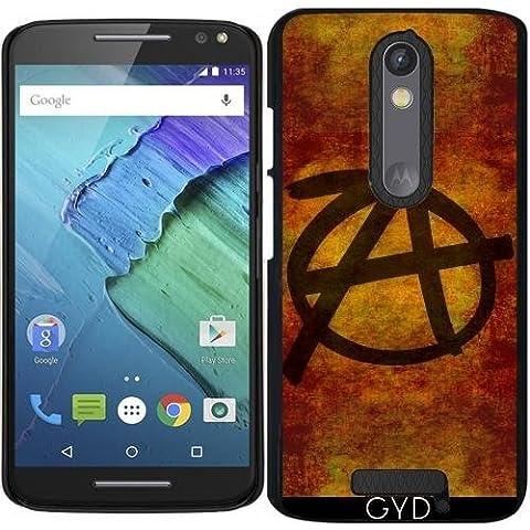 Funda para Motorola Moto X (3 generation) - Símbolo De La Anarquía En Dificultades by BruceStanfieldArtist