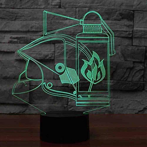RJGOPL 7 Color Led Touch Light Fixture Herramientas