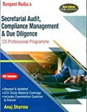 Secretarial Audit , Compliance Management and Due Diligence (Old Syllabus) Latest Edition CS Professional By Anuj Sharma Applicable for December 2019 Exam