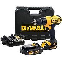 DeWalt DCD734C2-QW - Taladro Atornillador XR 14,4V 13mm Li-Ion 1,3Ah con maletín