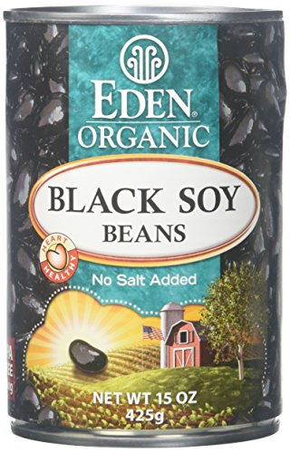 Eden Black Soy Beans – 15 oz – 12 Pack