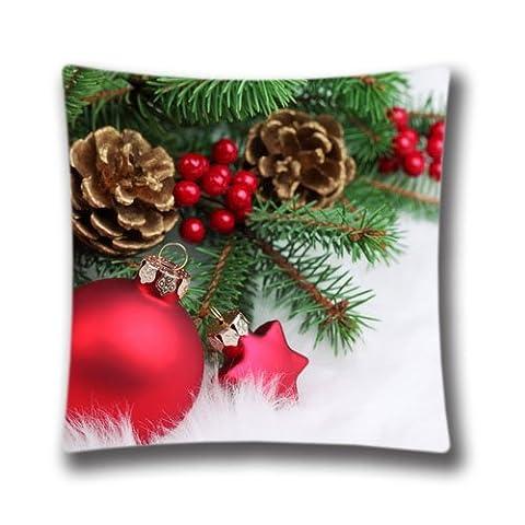 Pop Home Deko Weihnachten rot Weihnachtsschmuck Weihnachten Kissenbezug Personalisierte Custom