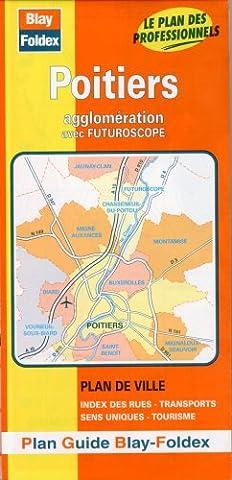 Plan de ville : Poitiers (avec un index)
