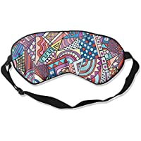 Eye Mask Eyeshade Abstract Watercolor Sleeping Mask Blindfold Eyepatch Adjustable Head Strap preisvergleich bei billige-tabletten.eu