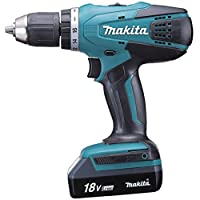 Makita 18V LXT Cordless Driver Drill 13mm, DF457DWE
