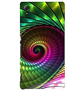 PRINTVISA Abstract Pattern Case Cover for Sony Xperia Z3 Plus