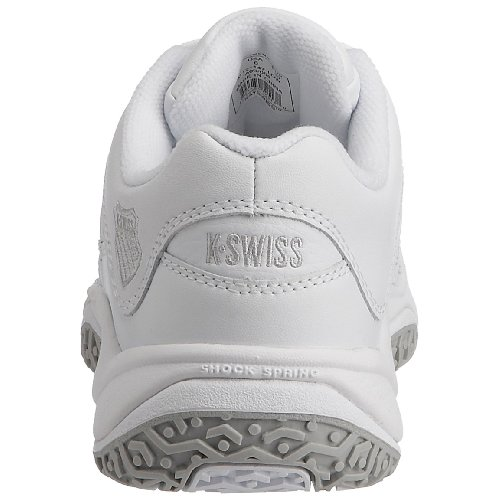 K-Swiss Outshine, Damen Tennisschuh Weiss/Platin