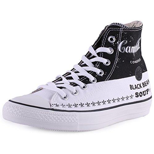Converse - Zzz, Sneaker alte Unisex – Adulto Nero/Bianco