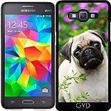 Funda para Samsung Galaxy Grand Prime (SM-G530) - Cervatillo Lindo Cachorro De Pug by Katho Menden