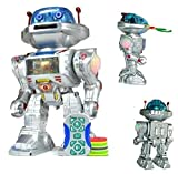 NMIT I-ROBOT RC Remote Controlled Toy Robot, Shoots Frisbees, Dances, Talks, Walks, with Sounds and Lights