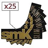 Blättchen SMK Schlank 25 x