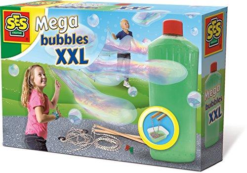 SES Creative - Mega Bubbles XXL, soplador de Mega Burbujas, (02252)