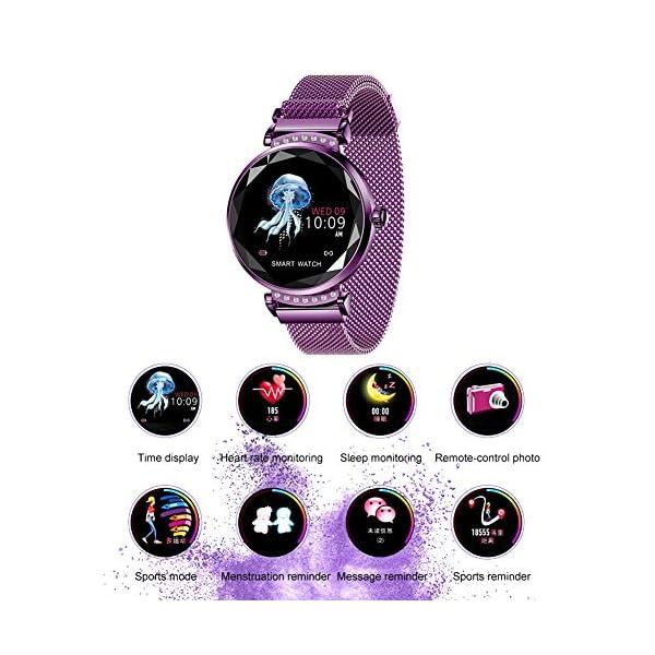 Smart Watch Heart Rate Monitor Fitness Tracker Watch Waterproof Smart Watch Bracelet for Women 3