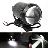 #5: Guance Motorcycle U1 Cree LED 15W Bike Fog Spot Light Lamp WHITE (Pack of 2) For Hero Glamour 125