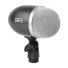 Proel DM12 - microphone super-cardioïde pour instruments. grosse caisse, amplificateur basse, percussions