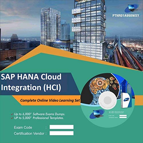 SAP HANA Cloud Integration (HCI) Complete Video Learning Solution Set (DVD)