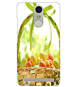 PrintDhaba FRUIT BUCKET D-6498 Back Case Cover for LENOVO K5 NOTE (Multi-Coloured)