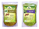 #7: 100% Natural Henna Leaves (LAWSONIA INERMIS) Indigo Leaves (INDIGOFERA TINCTORIA) Powder by Natural Healthlife Care (PACK OF 2) (454 g)