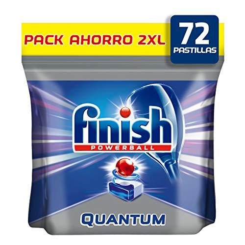 Finish Quantum Regular Pastillas Lavavajillas 72 Unidades