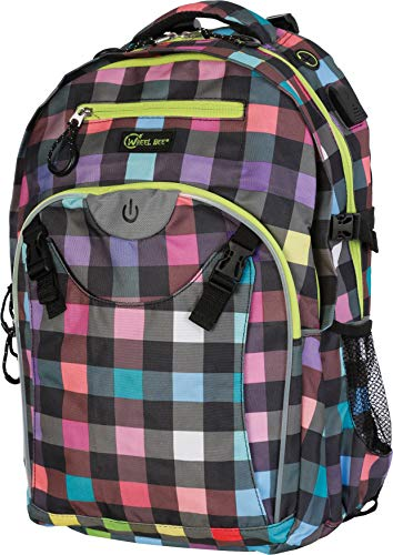 für Sicherheit und Sichtbarkeit Rucksack, Generation Z-Design: Lpady Multicolour, 46x32x20 cm ()