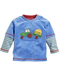 Schnizler Baby-Jungen Langarmshirt Sweatshirt Nicki Traktor