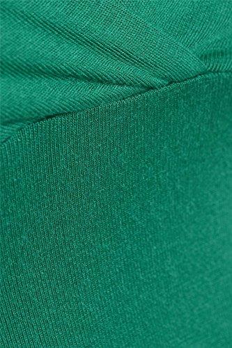 Nouveau cultures Femmes Bra Strap Top Wrap Bralet Tops 36-42 Jade Green