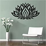 Quote Wall Vinyl Stickers Flower Quote Room Removable Decal