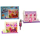 TOYKART- Beautiful Doll House Play Set 35 Pieces with Doll
