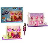 #5: TOYKART- Beautiful Doll House Play Set 35 Pieces with Doll