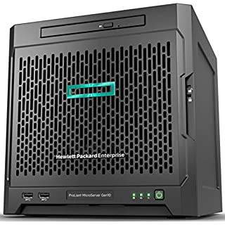 Hewlett Packard Enterprise Proliant Microserver Gen10 2.1 Ghz X3421 200 W Ultra Micro-Tower Server (2, 1 Ghz, X3421, 8 Gb, DDR4-SDRAM, 200 W, Ultra Micro Tower)