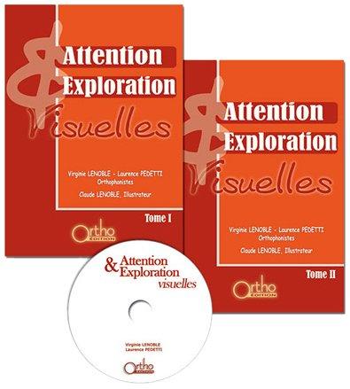 Attention et Exploration Visuelles : Tomes 1 et 2 (1CD audio) par Virginie Lenoble, Laurence Pedetti
