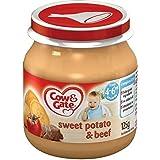 Cow & Gate patate douce & Beef 4mois + (125g) - Paquet de 6
