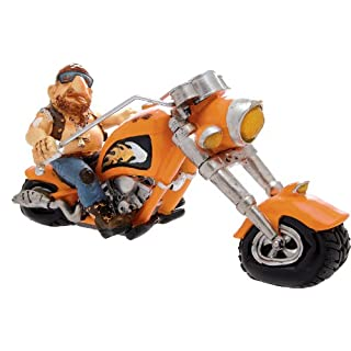 Motorcycle with Moto Orange cm.32H.15(Fixed Shipping Cost Euro 11.90–You Can Add Other Articles in the same order up to a total weight of kg.40)