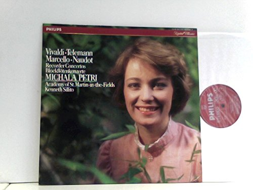 Vivaldi • Telemann • Marcello • Naudot - Michala Petri, Academy Of St. Martin-in-the-Fields,...