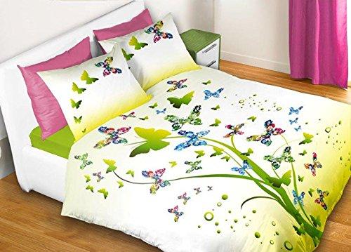 Capitan Casa Bettbezug in Digitaldruck Typ Apparel Position Butterfly Singolo Butterfly