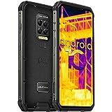 Ulefone Armor 9 Móvil Libre Resistente, con Cámara de Imagen Térmica FLIR Android 10 4G, 8+128GB, Cámara Trasera de 64MP, 660