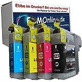 4 komp. XL Druckerpatronen mit neusten V2 Chip für Brother MFC J245 J470DW J650DW J870DW J4410DW J4510DW J4610DW J4710DW J6520DW J6720DW J6920DW Brother DCP J132W J123WG1 J152W J552DW J752DW J4110DW 1 x schwarz 1 x blau 1 x rot 1 x gelb