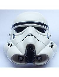 Star Wars Darth Vader casco Metal hebilla de cinturón de color blanco