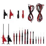 Multimeter, Kfz-Testzubehör-Set, 4 mm, Kabel-Klemme, Krokodilklemmen, 22 Stück