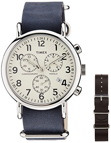 Timex Weekender Analog Off-White Dial Unisex Watch - TW2P621006S  available at amazon for Rs.3971